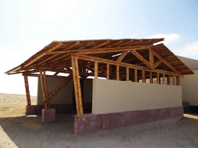 Caseta de seguridad de bambú