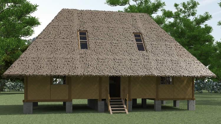 Casa Ashaninka de Bambu