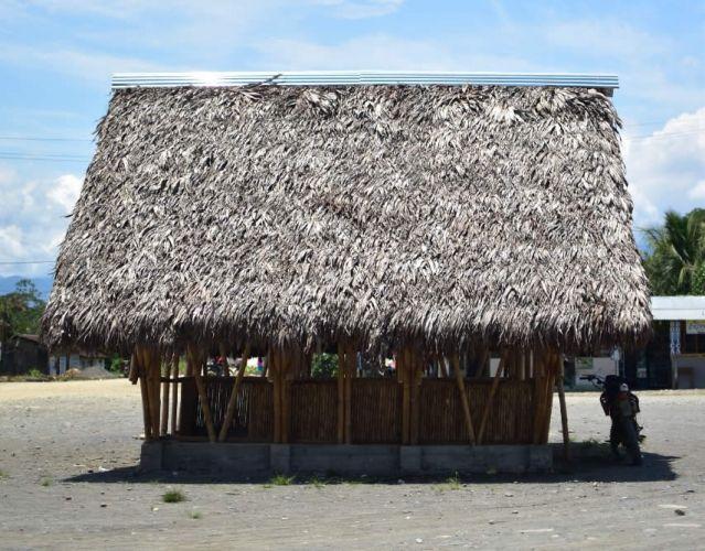 Casa turística Pilcopata de bambú