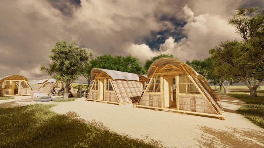 Refugio Temporal de Bambú